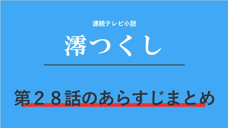 澪つくし第28話のネタバレあらすじ!借金の取立て!?千円のために弥太郎連れてがんばります!