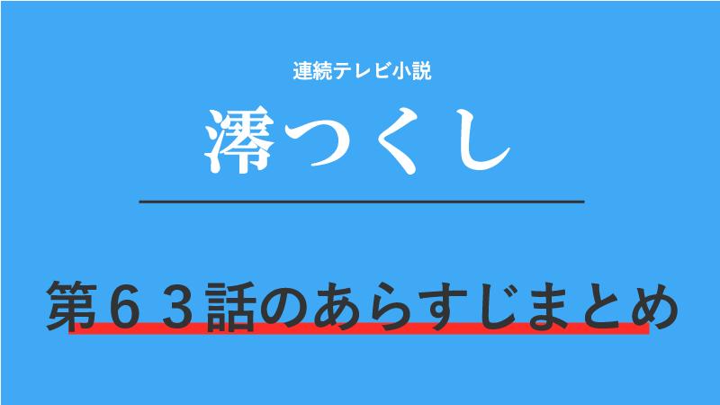 澪つくし第63話のネタバレあらすじ!婚礼の日!久兵衛だけ姿なし!?